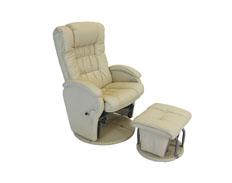 Manhattan Glider Chair BEIGE FEATURED