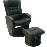 Manhattan Glider Chair BLACK