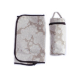 Bebe Chic Diaper Bag LARGE BEIGE FLORAL TOTE