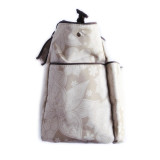 Bebe Chic Diaper Bag LARGE BEIGE FLORAL TOTE