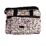 Bebe Chic Diaper Bags PINK FLORAL DIAPER TOTE