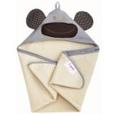 Hooded Towel GREY MONKEY