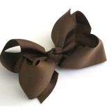 Large Boutique Bows CHOCOLATE