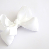 Large Boutique Bows WHITE