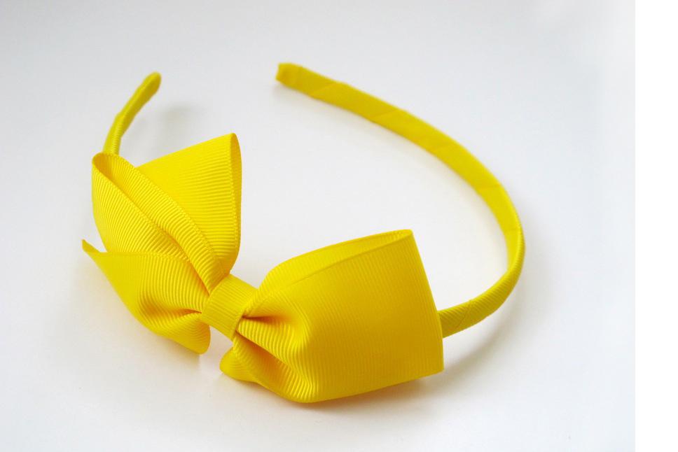 Large Signature Bows Headband Baby Beyond