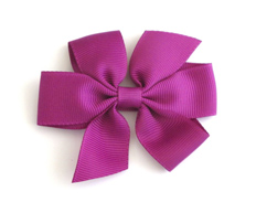 Medium Signature Bow ULTRAVIOLET FEATURED