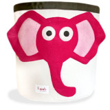 Storage Bin PINK ELEPHANT