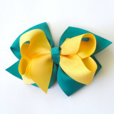 Two Tone Boutique Bows GARDENIA LIGHT ORCHID