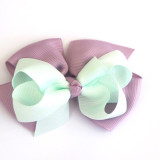 Two Tone Boutique Bows LILAC MINT