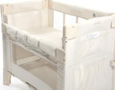 Arm Reach Co-Sleeper MINI NATURAL FEATURED