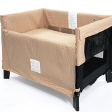 Arm Reach Co-Sleeper ORIGINAL BLACK TOFFEE