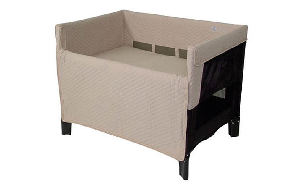 Arm reach co sleeper original black toffee baby and beyond for Arm s reach co sleeper