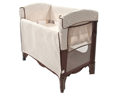 Arm Reach Co-Sleeper ORIGINAL COCOA NATURAL 01 FEATURED