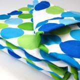 Blanket BLUE DISCO DOT