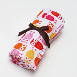 Blanket PINK OWLS