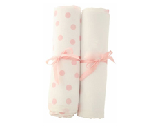 Bubba Blue MUSLIN WRAPS PINK FEATURED