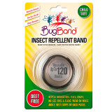 BugBand Insect Repelling Band BLACK