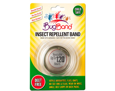 BugBand Insect Repelling Band GREY FEATURED