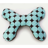 Butterfly Pillow BLUE DISCO DOT
