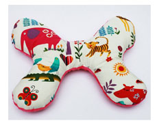 Butterfly Pillow JUICY JUNGLE FEATURED