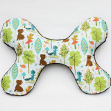 Butterfly Pillow WOODLAND FRIENDS