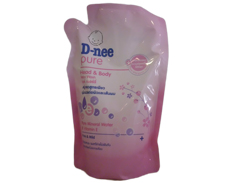 Dnee Body Wash PINK POUCH FEATURED