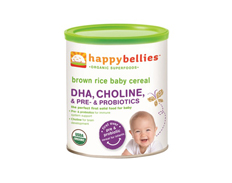 Happy Baby BROWN RICE BELLIES FEATURED
