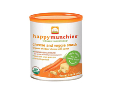 Happy Baby CHEDDAR CARROT MUNCHIES FEATURED