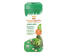 Happy Baby GREEN PUFFS FEATURED