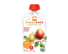 Happy Baby SPINACH MANGO PEARS STAGE 2 2 FEATURED