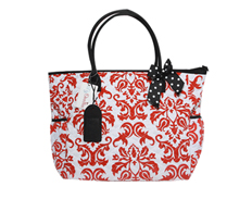 MyDoodles DB RED DAMASK WBLACK FEATURED