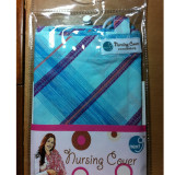 Next9 Nursing Cover BLUE PLAID