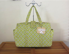 Nursing Mom Kate Carry All CHARTREUSE FEATURED