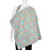 Nursing Cover and Pouch Set BLUE GRAY ANGELICA