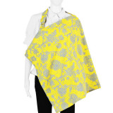 Nursing Cover and Pouch Set LEMON LIME