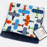 Spinkie Essential Burp Cloth BRIGHT AIRPLANES 1