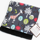 Spinkie Essential Burp Cloth GREY GIRAFFE