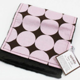 Spinkie Essential Burp Cloth PINK DISCO DOT