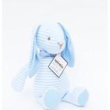 The Bitbit Rabbit BLUE STRIPES RABBIT