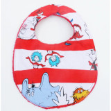 The Essential Bib in DR SEUSS CHARACTERS STRIPES