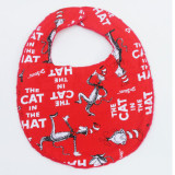 The Essential Bib in DR SEUSS RED CAT IN THE HAT