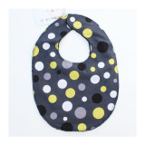 The Essential Bib in GREY LOLLI DOT