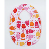 The Essential Bib in PINK OWLS