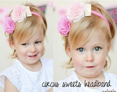 Circus Headband SWEET FEATURED