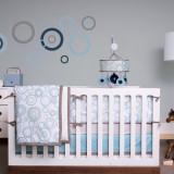 JJ Cole Crib Set SKY ORBIT