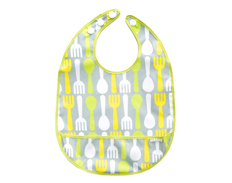 JJ Cole Large Bib CITRUS SNACK FEATURED