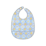 JJ Cole Large Bib LEMON POSY