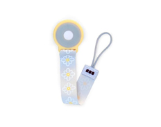 JJ Cole Pacifier Clip LEMON POSY FEATURED