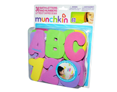 Munchkin BATH LETTERS AND NOS GIRL FEATURED