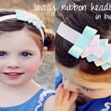 Spinkie Lovely Ribbon Headband BUBBLEGUM